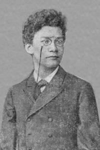 Герман Минковский, когда он получил приз Парижской Академии